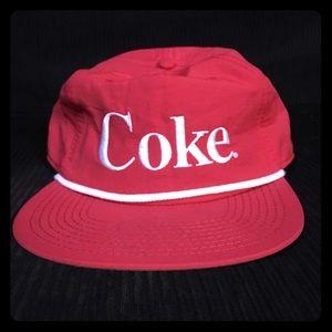 Other - Coke SnapBack cap